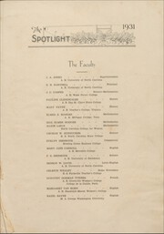 Page 13, 1931 Edition, Elizabeth City High School - Spotlight Yearbook (Elizabeth City, NC) online yearbook collection