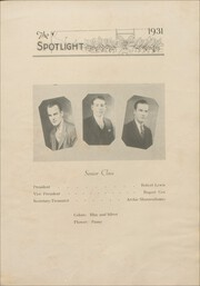 Page 17, 1931 Edition, Elizabeth City High School - Spotlight Yearbook (Elizabeth City, NC) online yearbook collection