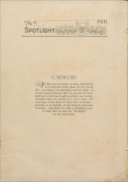 Page 8, 1931 Edition, Elizabeth City High School - Spotlight Yearbook (Elizabeth City, NC) online yearbook collection