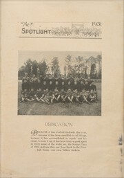 Page 9, 1931 Edition, Elizabeth City High School - Spotlight Yearbook (Elizabeth City, NC) online yearbook collection