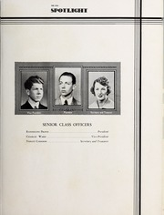 Page 17, 1936 Edition, Elizabeth City High School - Spotlight Yearbook (Elizabeth City, NC) online yearbook collection