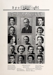 Page 11, 1937 Edition, Elizabeth City High School - Spotlight Yearbook (Elizabeth City, NC) online yearbook collection