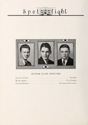 Page 12, 1937 Edition, Elizabeth City High School - Spotlight Yearbook (Elizabeth City, NC) online yearbook collection