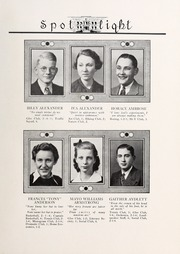 Page 13, 1937 Edition, Elizabeth City High School - Spotlight Yearbook (Elizabeth City, NC) online yearbook collection