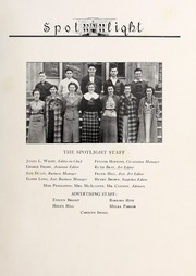 Page 7, 1937 Edition, Elizabeth City High School - Spotlight Yearbook (Elizabeth City, NC) online yearbook collection