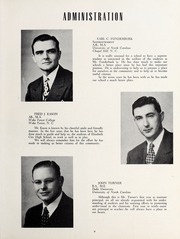 Page 11, 1953 Edition, Elizabeth City High School - Spotlight Yearbook (Elizabeth City, NC) online yearbook collection