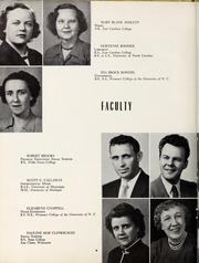 Page 12, 1953 Edition, Elizabeth City High School - Spotlight Yearbook (Elizabeth City, NC) online yearbook collection