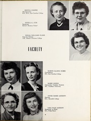 Page 13, 1953 Edition, Elizabeth City High School - Spotlight Yearbook (Elizabeth City, NC) online yearbook collection