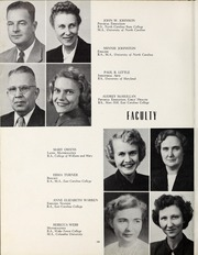Page 14, 1953 Edition, Elizabeth City High School - Spotlight Yearbook (Elizabeth City, NC) online yearbook collection