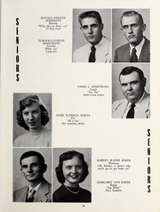 Page 17, 1953 Edition, Elizabeth City High School - Spotlight Yearbook (Elizabeth City, NC) online yearbook collection