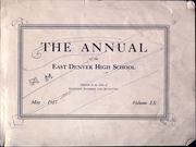 Page 3, 1917 Edition, East High School - Angelus Yearbook (Denver, CO) online yearbook collection