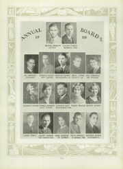 Page 12, 1928 Edition, East High School - Angelus Yearbook (Denver, CO) online yearbook collection