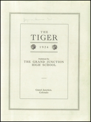Page 3, 1924 Edition, Grand Junction High School - Tiger Yearbook (Grand Junction, CO) online yearbook collection
