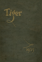 Grand Junction High School - Tiger Yearbook (Grand Junction, CO) online yearbook collection, 1925 Edition, Page 1