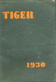 Grand Junction High School - Tiger Yearbook (Grand Junction, CO) online yearbook collection, 1930 Edition, Page 1