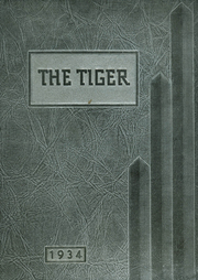 1934 Edition, Grand Junction High School - Tiger Yearbook (Grand Junction, CO)