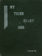 1935 Edition, Grand Junction High School - Tiger Yearbook (Grand Junction, CO)