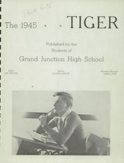 Page 5, 1945 Edition, Grand Junction High School - Tiger Yearbook (Grand Junction, CO) online yearbook collection