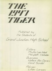 Page 7, 1947 Edition, Grand Junction High School - Tiger Yearbook (Grand Junction, CO) online yearbook collection