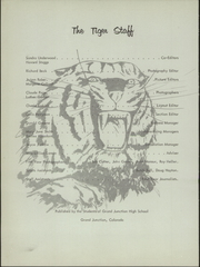 Page 6, 1957 Edition, Grand Junction High School - Tiger Yearbook (Grand Junction, CO) online yearbook collection
