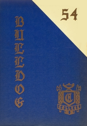 1954 Edition, College High School - Bulldog Yearbook (Greeley, CO)