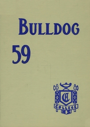 1959 Edition, College High School - Bulldog Yearbook (Greeley, CO)