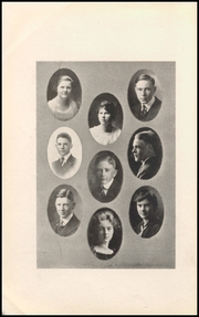 Page 12, 1917 Edition, Boulder High School - Odaroloc Yearbook (Boulder, CO) online yearbook collection