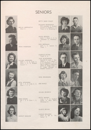 Page 11, 1945 Edition, Boulder High School - Odaroloc Yearbook (Boulder, CO) online yearbook collection