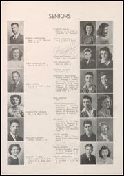 Page 15, 1945 Edition, Boulder High School - Odaroloc Yearbook (Boulder, CO) online yearbook collection