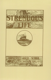 Page 11, 1926 Edition, Roosevelt High School - Strenuous Life Yearbook (Seattle, WA) online yearbook collection