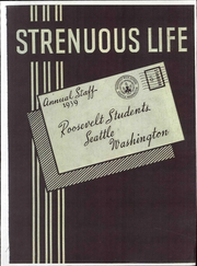 Page 1, 1939 Edition, Roosevelt High School - Strenuous Life Yearbook (Seattle, WA) online yearbook collection