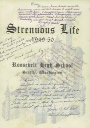 Page 7, 1950 Edition, Roosevelt High School - Strenuous Life Yearbook (Seattle, WA) online yearbook collection