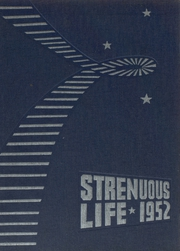 1952 Edition, Roosevelt High School - Strenuous Life Yearbook (Seattle, WA)