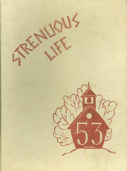 1953 Edition, Roosevelt High School - Strenuous Life Yearbook (Seattle, WA)