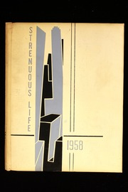 1958 Edition, Roosevelt High School - Strenuous Life Yearbook (Seattle, WA)
