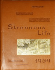 1959 Edition, Roosevelt High School - Strenuous Life Yearbook (Seattle, WA)