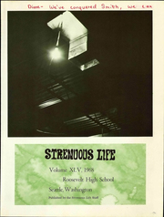 Page 7, 1968 Edition, Roosevelt High School - Strenuous Life Yearbook (Seattle, WA) online yearbook collection