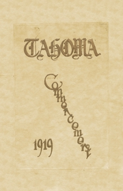 Page 1, 1919 Edition, Stadium High School - Tahoma Yearbook (Tacoma, WA) online yearbook collection