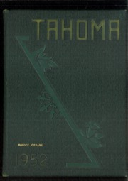 1952 Edition, Stadium High School - Tahoma Yearbook (Tacoma, WA)