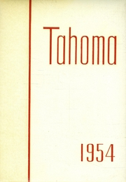 1954 Edition, Stadium High School - Tahoma Yearbook (Tacoma, WA)