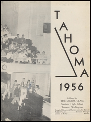 Page 7, 1956 Edition, Stadium High School - Tahoma Yearbook (Tacoma, WA) online yearbook collection