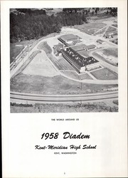 Page 5, 1958 Edition, Kent Meridian High School - Diadem Yearbook (Kent, WA) online yearbook collection