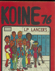 1976 Edition, Laurel Park High School - Koine Yearbook (Martinsville, VA)
