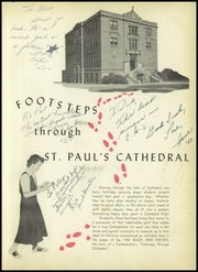 Page 5, 1950 Edition, St Pauls Cathedral High School - Book and Sword Yearbook (Pittsburgh, PA) online yearbook collection