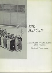 Page 7, 1959 Edition, St Mary of the Mount High School - St Mary Yearbook (Pittsburgh, PA) online yearbook collection