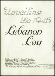 Page 6, 1946 Edition, Mount Lebanon High School - Lebanon Log Yearbook (Pittsburgh, PA) online yearbook collection