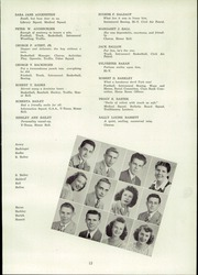 Page 17, 1947 Edition, Mount Lebanon High School - Lebanon Log Yearbook (Pittsburgh, PA) online yearbook collection