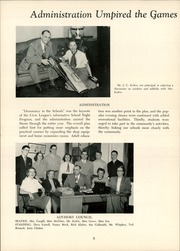 Page 12, 1951 Edition, Mount Lebanon High School - Lebanon Log Yearbook (Pittsburgh, PA) online yearbook collection