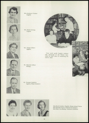 Page 14, 1955 Edition, Mount Lebanon High School - Lebanon Log Yearbook (Pittsburgh, PA) online yearbook collection
