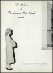 Page 6, 1955 Edition, Mount Lebanon High School - Lebanon Log Yearbook (Pittsburgh, PA) online yearbook collection